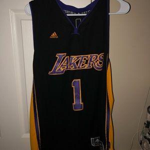 Men's Dangelo Russell Lakers Jersey